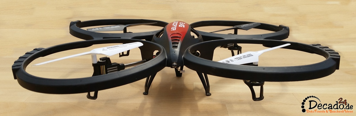 rayline r807v quadrocopter mit led beleuchtung kamera multicopter drohne ebay. Black Bedroom Furniture Sets. Home Design Ideas